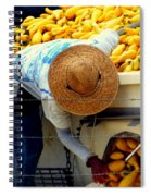 Summer Squash Spiral Notebook