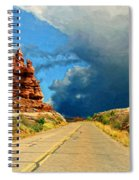 Summer Storm Spiral Notebook
