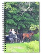 Summer Stroll Spiral Notebook