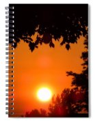 Summer Sunrise Right Side Spiral Notebook