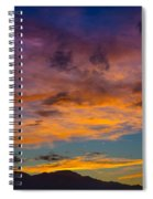 Summer Sunset Colorado Spiral Notebook