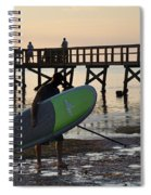 Summer Surfer Spiral Notebook