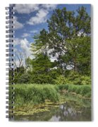 Summer Time At Moraine View State Park Spiral Notebook