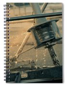 Summer Time On The Boat Spiral Notebook