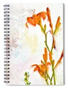 Summer Trinity Top One Of Three Spiral Notebook