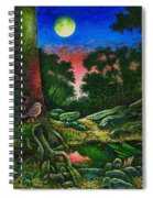 Summer Twilight In The Forest Spiral Notebook