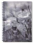 summer whipsers IIII Spiral Notebook