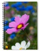 Summer Wild Blooms Spiral Notebook