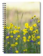 Summer Wildflowers On The Rim  Spiral Notebook