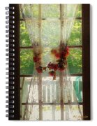 Summerglow Spiral Notebook