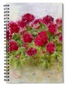 Summer's Blush Spiral Notebook