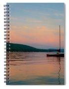 Summers Calm End Spiral Notebook