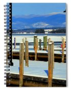 Summers Docked For Winter Spiral Notebook