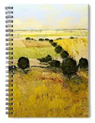Summers End Spiral Notebook