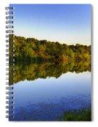 Summer's Night 20140178-01 Spiral Notebook