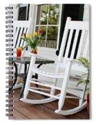 Summertime And Sweet Tea Spiral Notebook