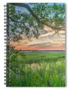 Summertime Sunset Spiral Notebook