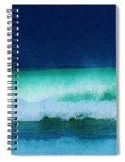 Summertime Surf Spiral Notebook