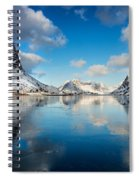 Sun And Ice Reinefjord Spiral Notebook