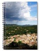 Sun And Rain Spiral Notebook