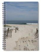 Sun And Sand Spiral Notebook