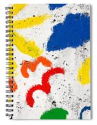 Sun And Seagulls Spiral Notebook