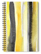 Sun And Shadows- Abstract Painting Spiral Notebook