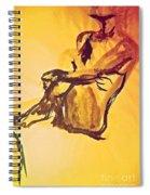 Sun Bath By Jrr Spiral Notebook