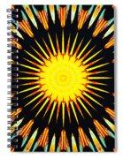 Sun Burst Spiral Notebook