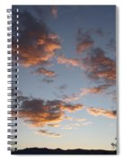Sun Clouds Spiral Notebook
