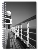 Sun Deck Shadows Spiral Notebook
