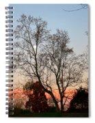 Sun Down Moon Up Spiral Notebook