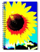 Sun Flowers Spiral Notebook