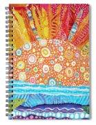 Sun Glory Spiral Notebook