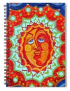 Sun God Spiral Notebook