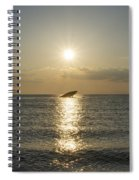 Sun Going Down In Cape May Spiral Notebook