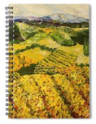 Sun Harvest Spiral Notebook