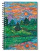Sun In Water Spiral Notebook