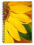 Sun-kissed Sunflower Spiral Notebook