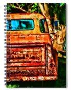 Sun Kissed Truck Spiral Notebook