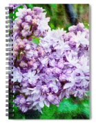 Sun Lit Lilac The Sweet Sign Of Spring Spiral Notebook