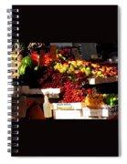 Sun On Fruit Close Up Spiral Notebook