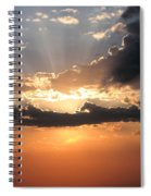 Sun Rays Spiral Notebook