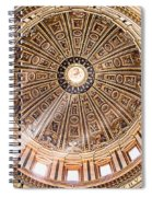 Sun Rays Through The Dome Spiral Notebook