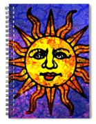 Sun Salutation Spiral Notebook