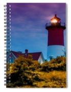 Sun Setting Inner Light Spiral Notebook