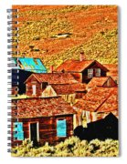 Sun Setting On Bodie Spiral Notebook
