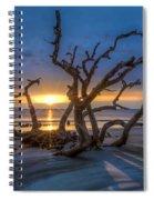 Sun Shadows Spiral Notebook
