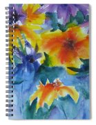 Sun Splashes Spiral Notebook