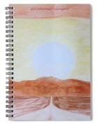 Sun Star Spiral Notebook